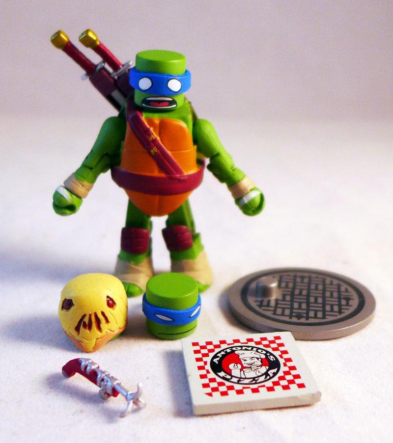 Leonardo TMNT Series 2 Minimate