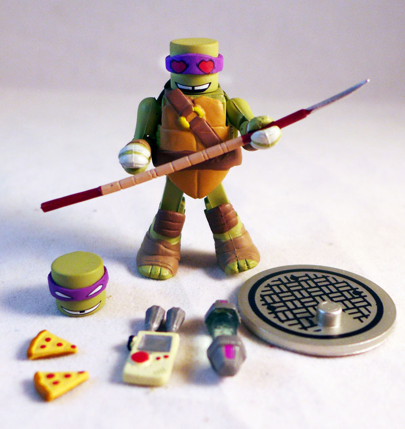 Donatello TMNT Series 2 Minimate