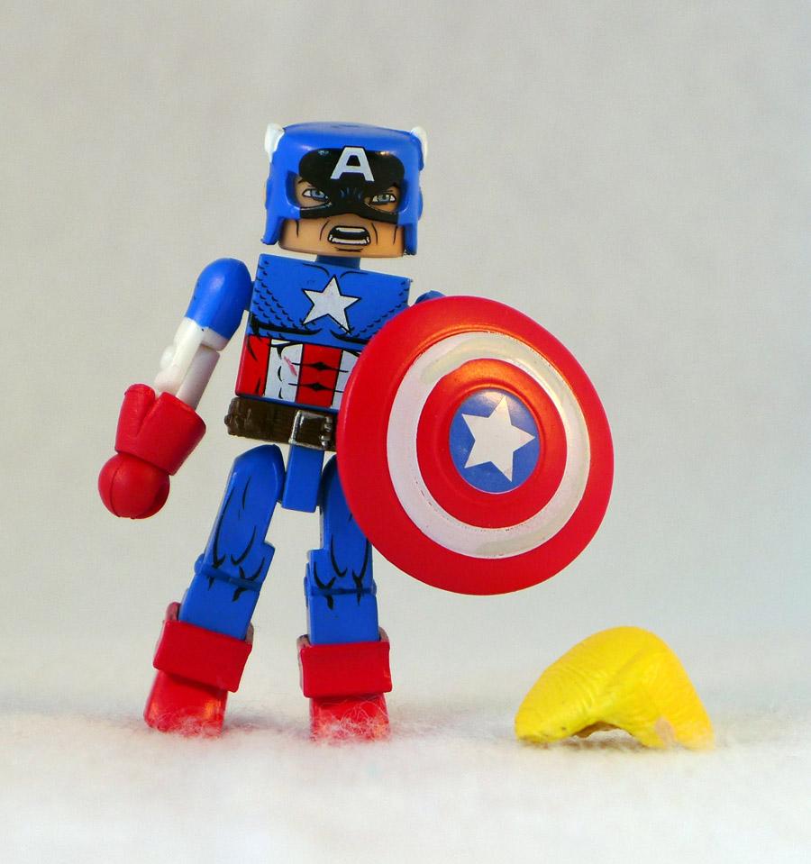 Captain America (MvC) Loose Minimate