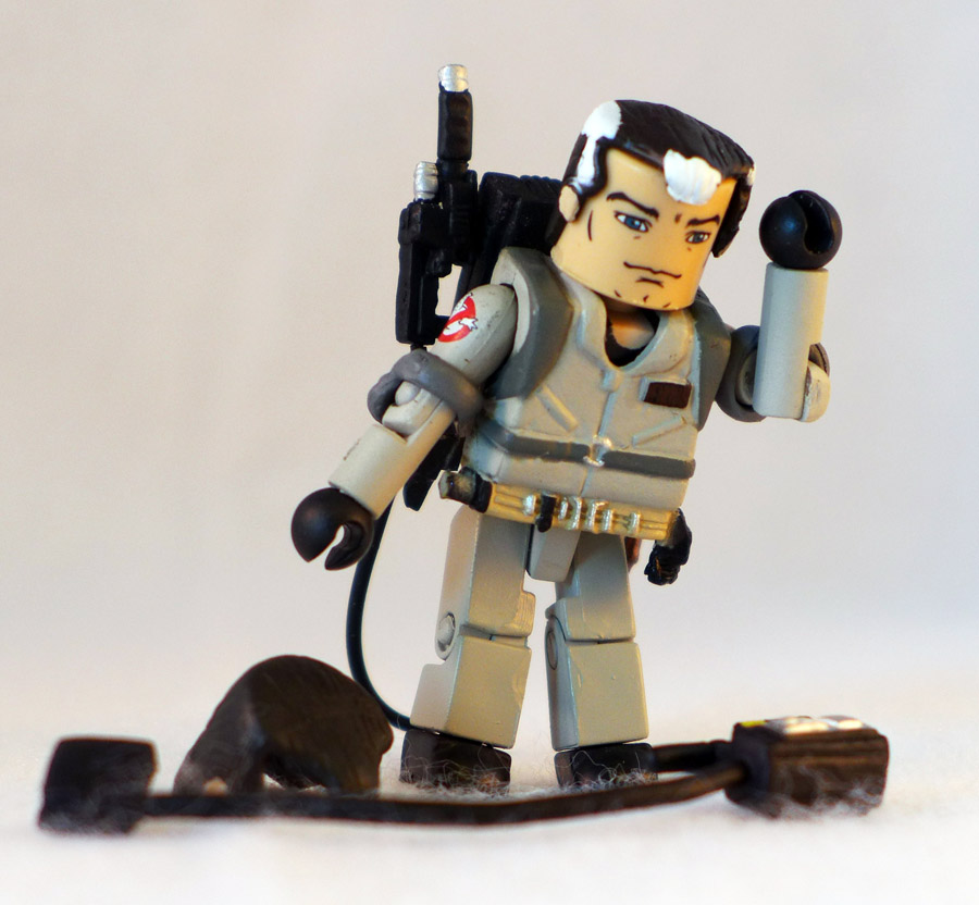Marshmallow Splattered Venkman Loose Ghostbusters Minimate
