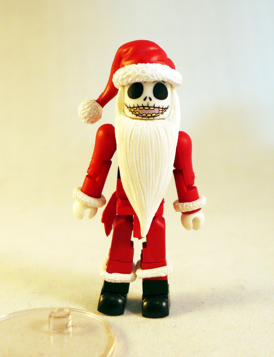 Santa Jack Nightmare Before Christmas Minimate