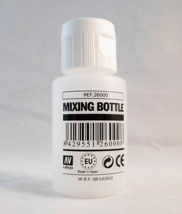 Vallejo Paint: Empty Mixing Bottle