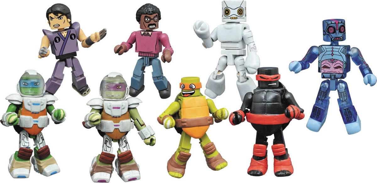 Teenage Mutant Ninja Turtles TMNT Minimates Series 4 Full Case of 18