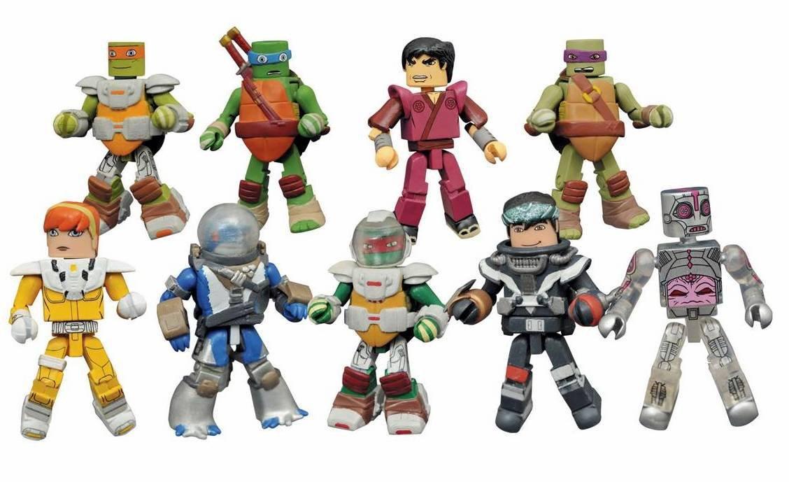 Teenage Mutant Ninja Turtles TMNT Minimates Series 5 Full Case of 18