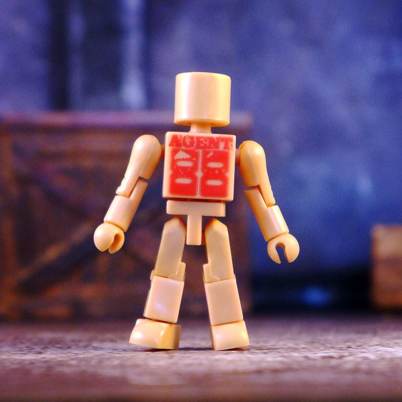 LTS Exclusive Flesh Colored Agent 88 Promo Minimate
