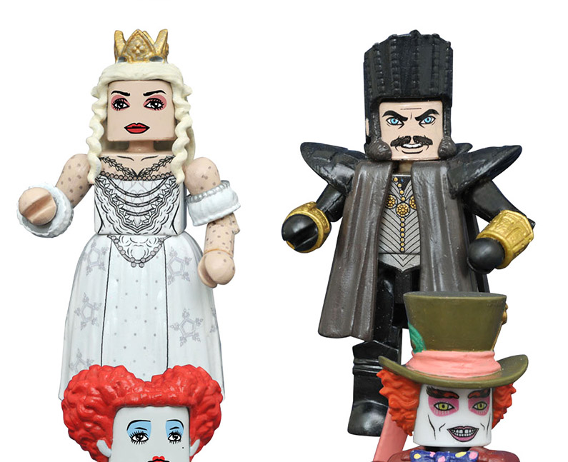 Time & White Queen Alice Through the Looking Glass Minimates