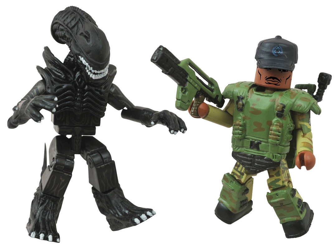 Sgt. Apone & Alien Minimates - LOOSE ONLY