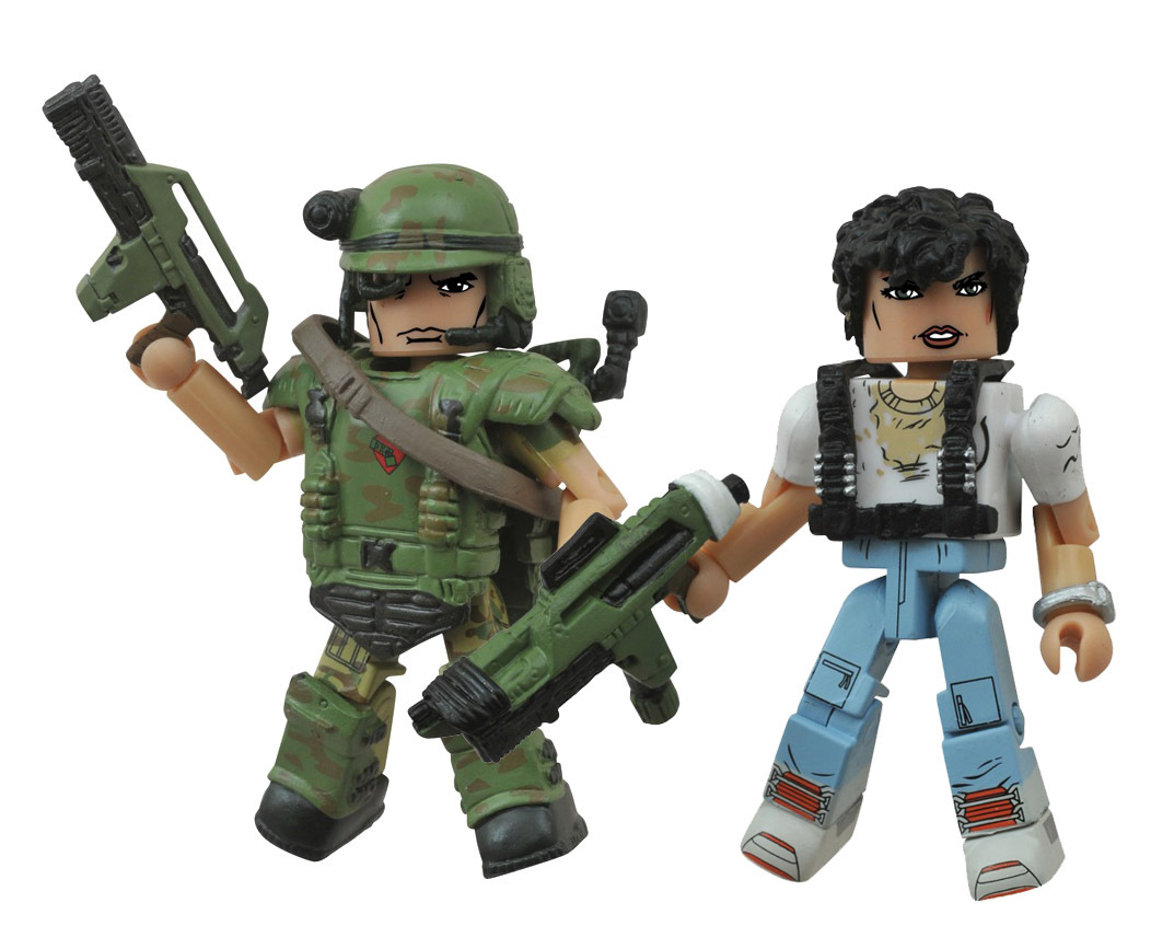 Ripley & Wounded Cpl. Hicks Minimates