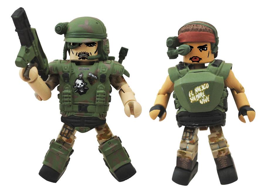 Pvt. Vasquez & Pvt. Hudson Aliens Minimates