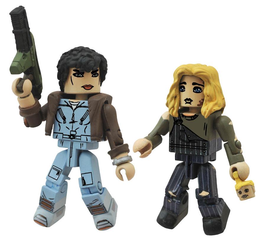 Jumpsuit Ripley & Newt Aliens Minimates