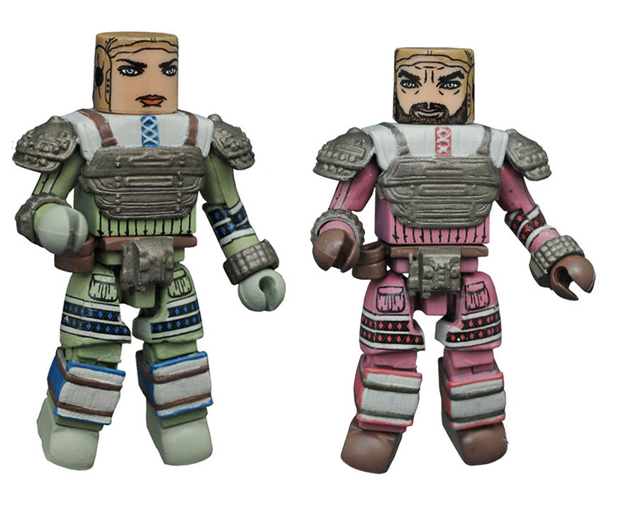 Space Suit Dallas & Space Suit Lambert Aliens Minimates