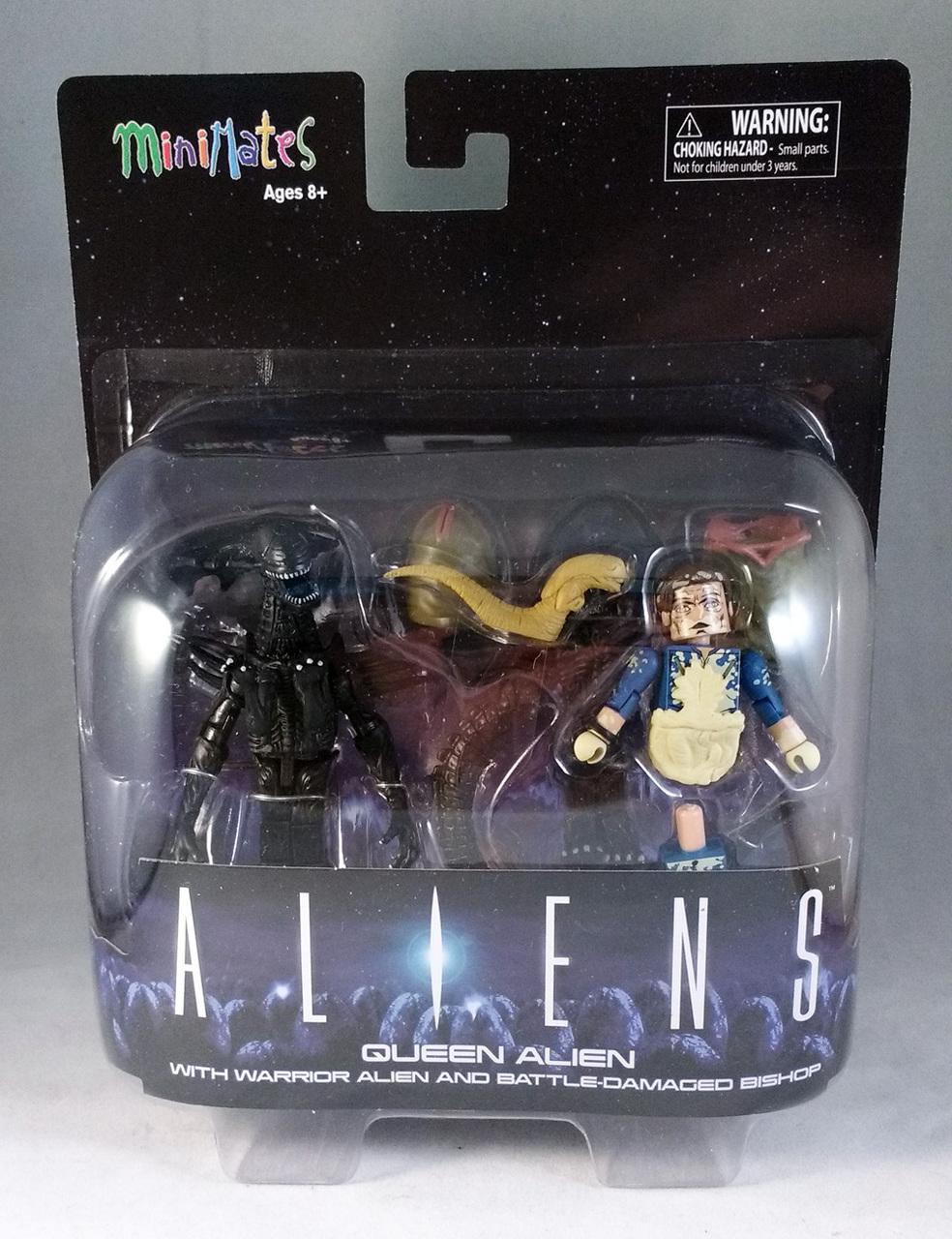Alien Queen Deluxe Aliens Minimates Set