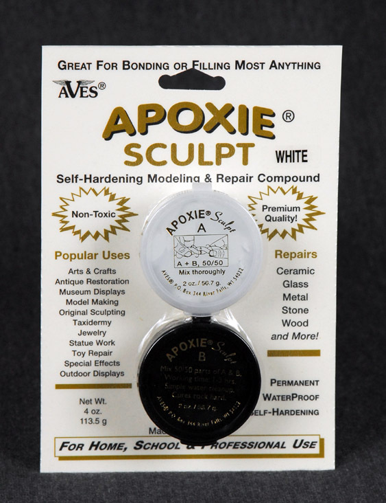 Apoxie Sculpt 1/4 lb Black Color