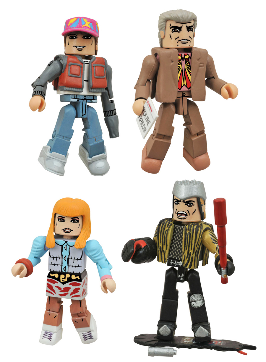 Back to the Future 2015 Hill Valley Minimates Box Set