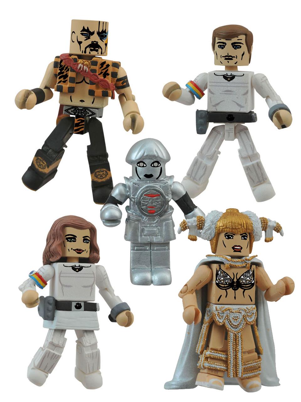 Buck Rogers Minimates Box Set