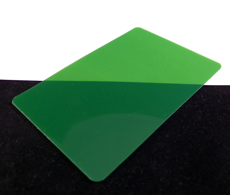 Green Translucent Colored Plastic Sheet for Customizing