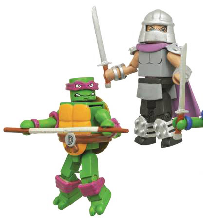 Donatello VS Shredder TMNT Minimates