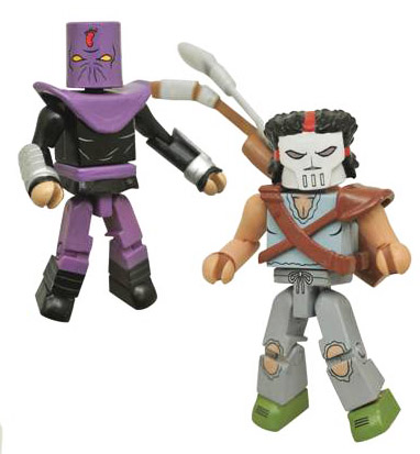 Casey Jones VS Foot Soldier TMNT Minimates