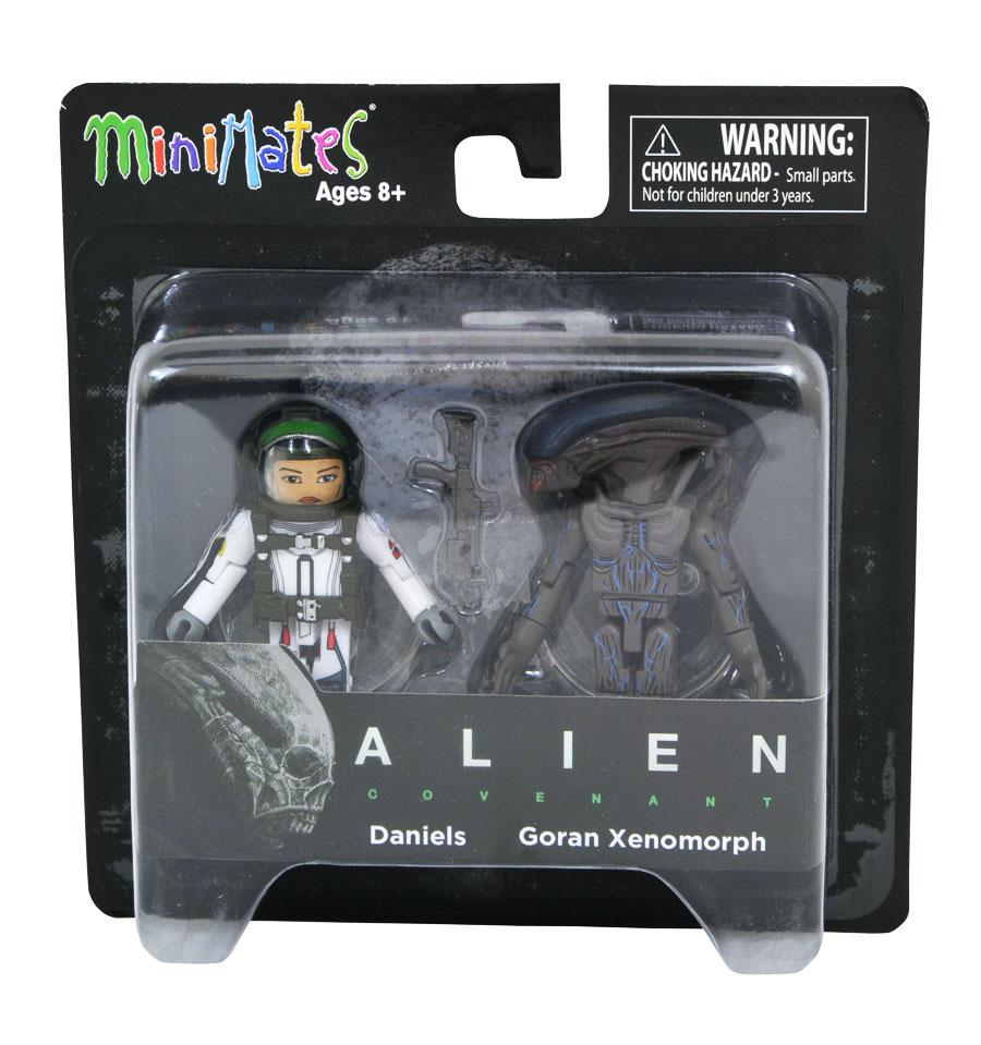 Daniels & Goran Xenomorph Alien Covenant Minimates