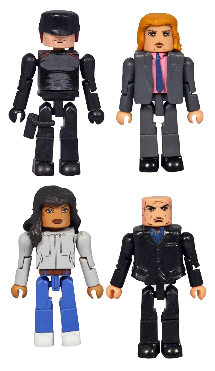 Daredevil Netflix Minimates Series 1 Box Set