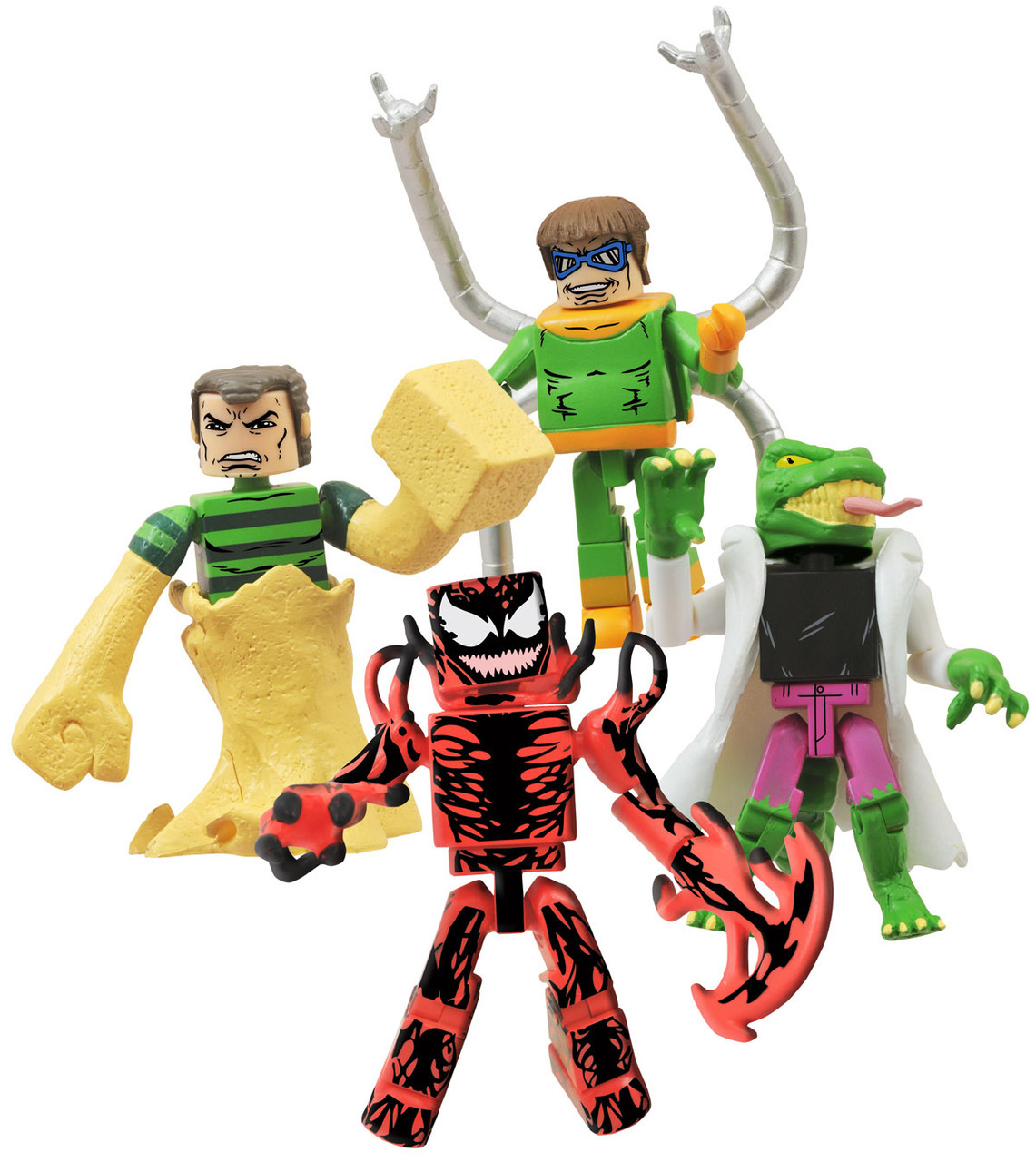 Deadly Foes of Spider-Man Marvel Minimates Box Set - LTS Exclusive!