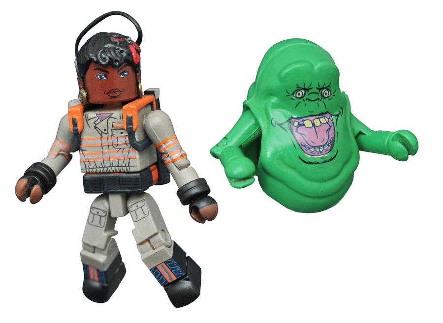 Patty Tolan & Slimer Ghostbusters 2016 Minimates