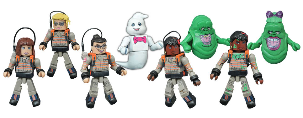 Ghostbusters 2016 Minimates Series 1 Full Set of 8
