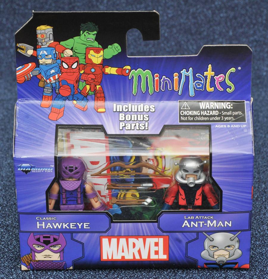 Classic Hawkeye & Ant Man Marvel Minimates