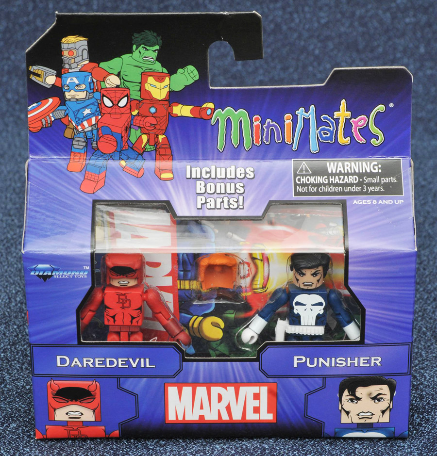 Daredevil & Punisher Marvel Minimates