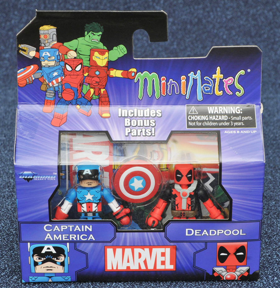 Captain America & Deadpool Marvel Minimates