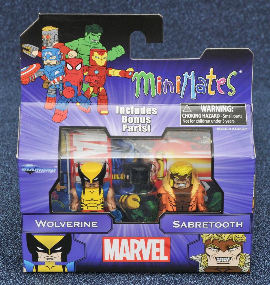 Wolverine & Sabretooth Marvel Minimates