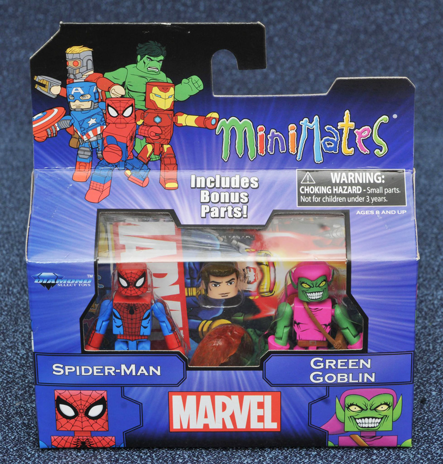 Spider-Man & Green Goblin Marvel Minimates