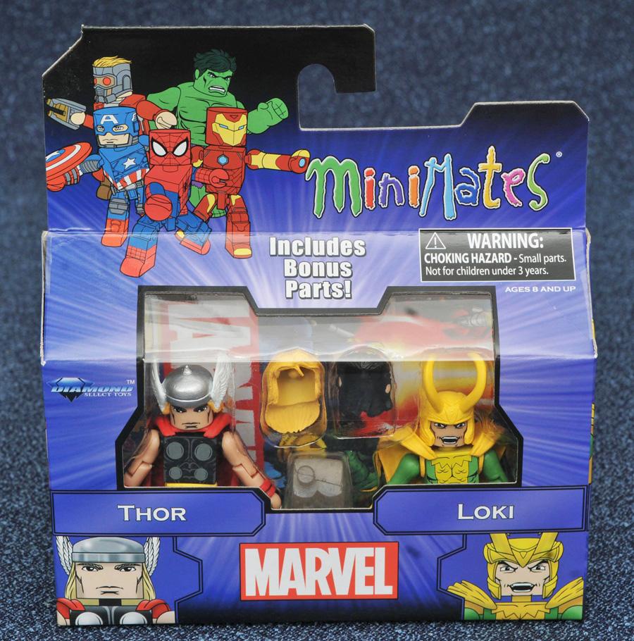 Thor & Loki Marvel Minimates