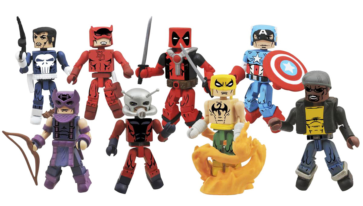 Marvel Minimates Greatest Hits Series 2 Full Set of 8
