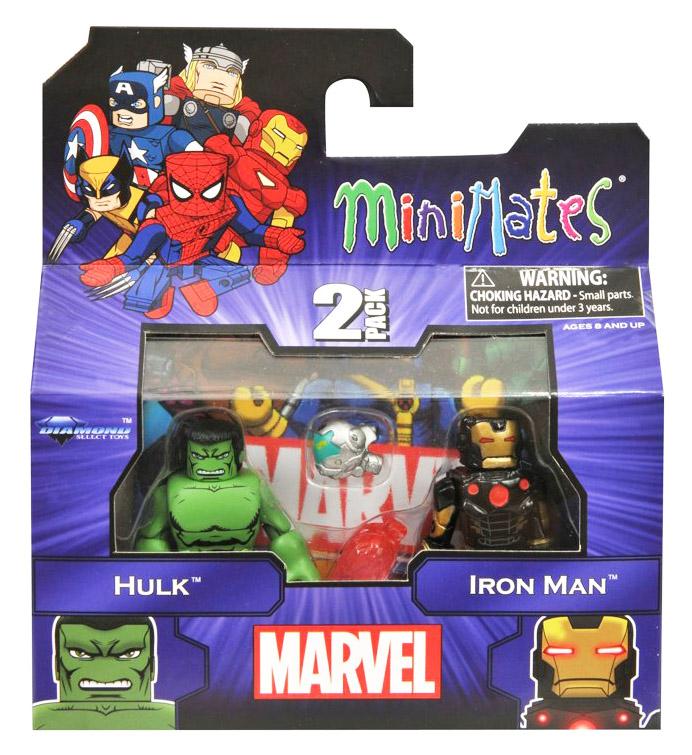 Marvel NOW Hulk & Iron Man Marvel Minimates