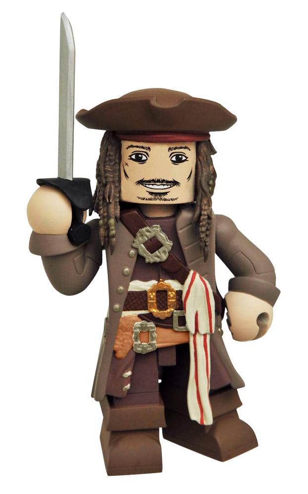 Jack Sparrow Pirates of the Caribbean Vinimate Vinyl Figure