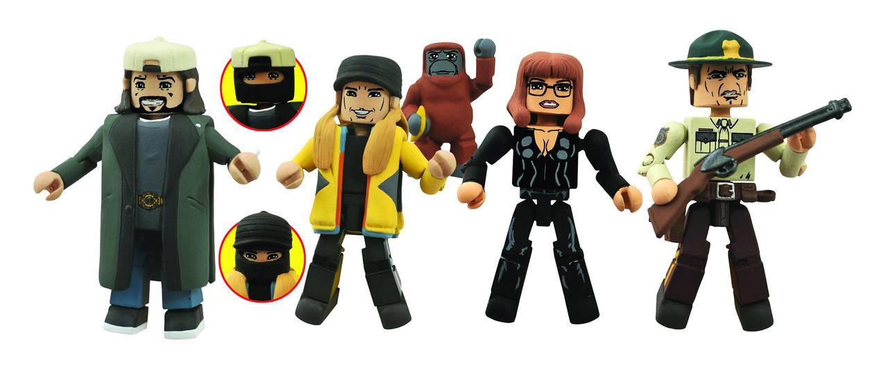 Jay and Silent Bob Strike Back Minimates Series 2 Box Set