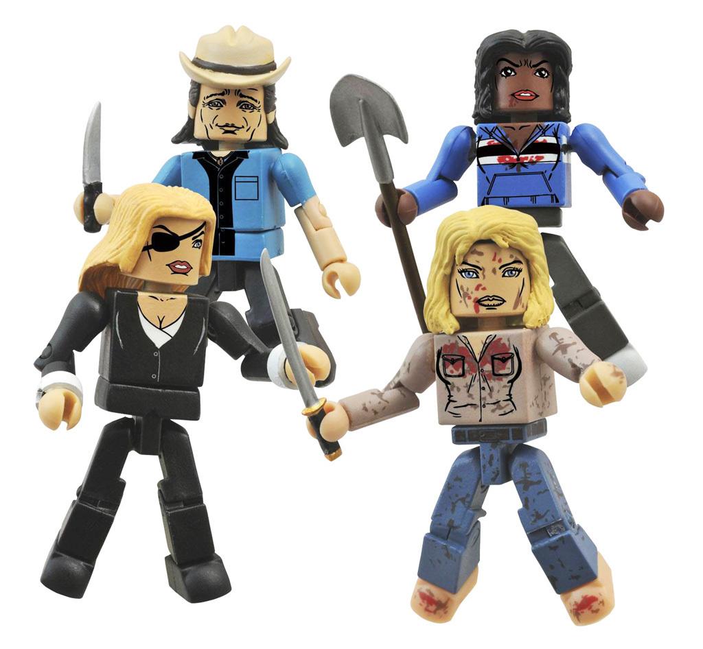 Kill Bill Minimates Deadly Vipers Assassins Box Set