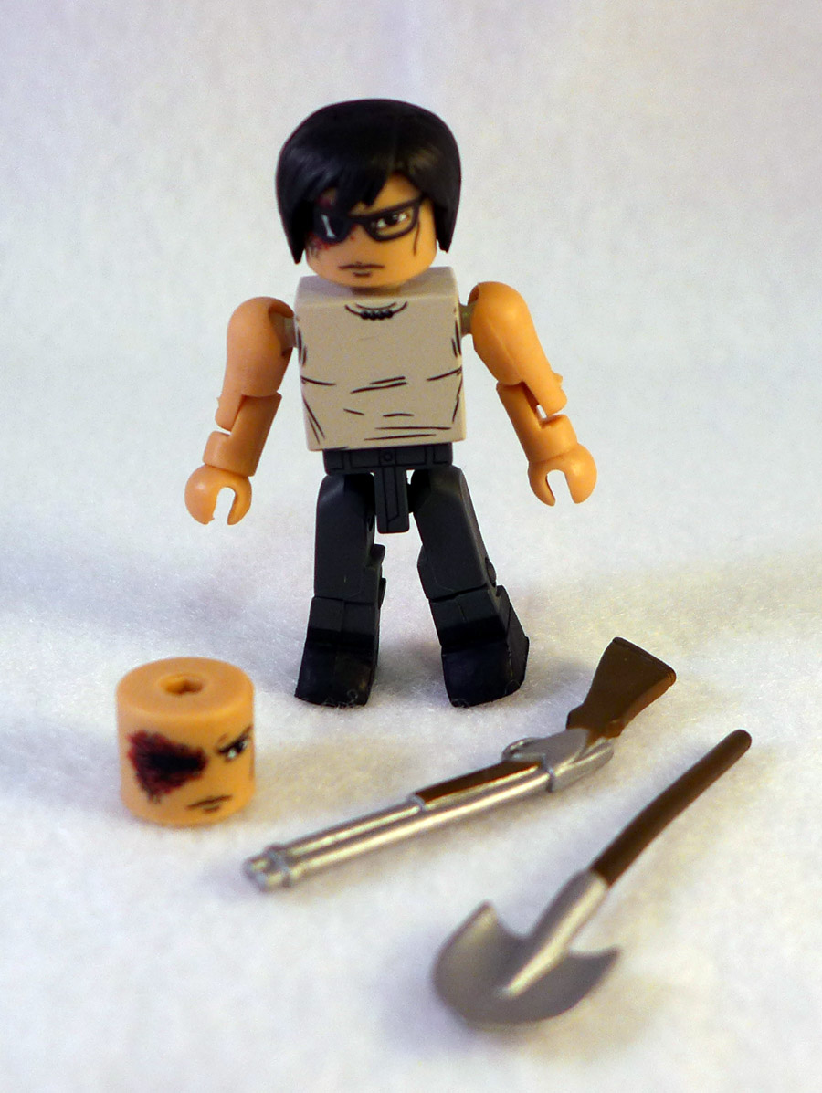 Carl Grimes Loose Walking Dead Minimate