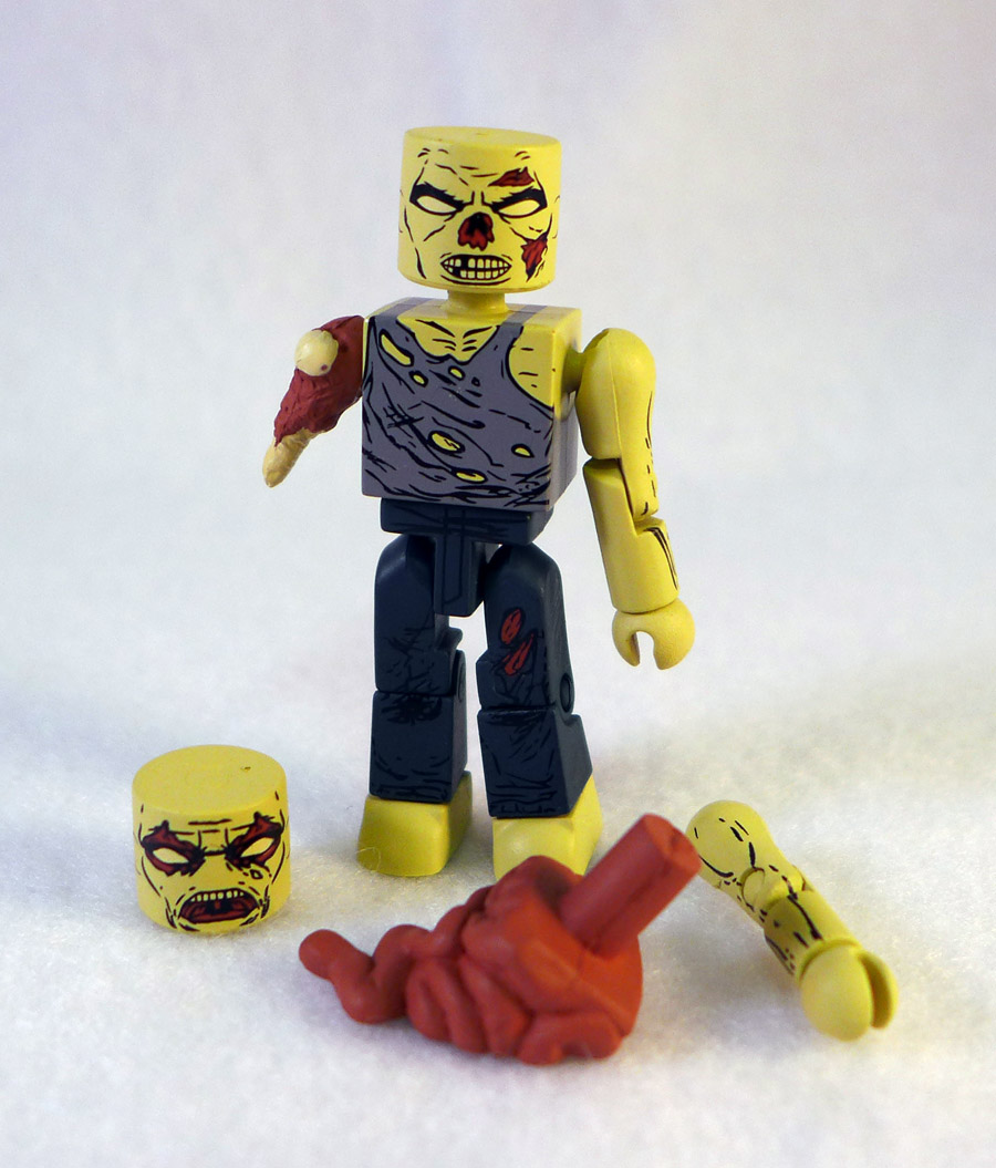Forest Zombie Loose Walking Dead Minimate
