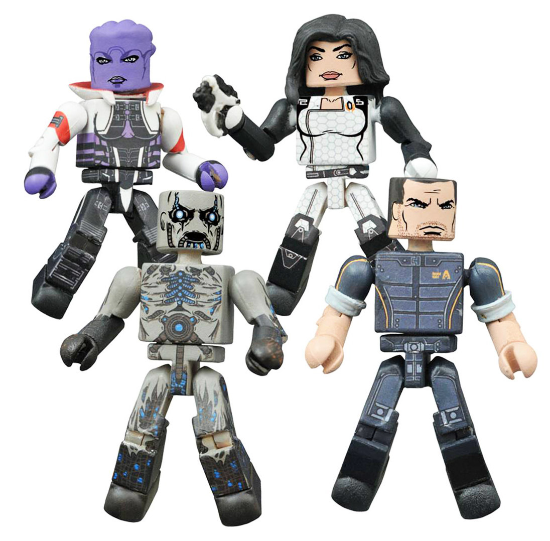 Mass Effect Minimates Series 1 Box Set