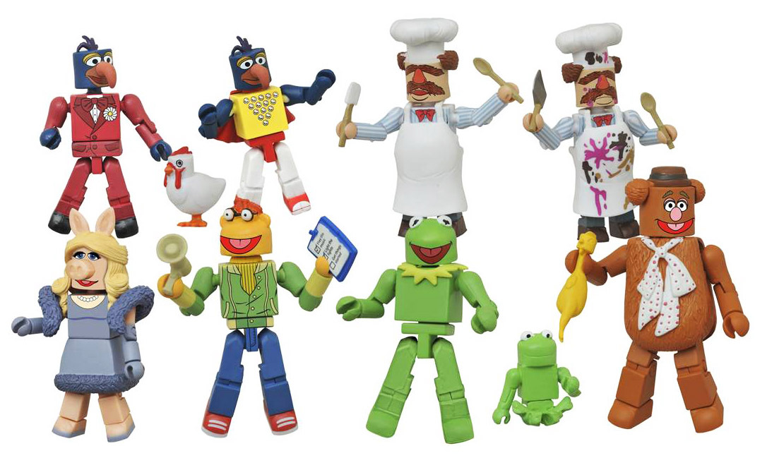 Muppets Minimates Series 1 Full Set of 8