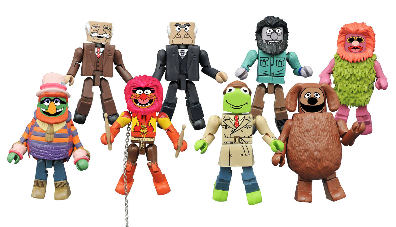 Muppets Minimates Series 2 Full Set of 8