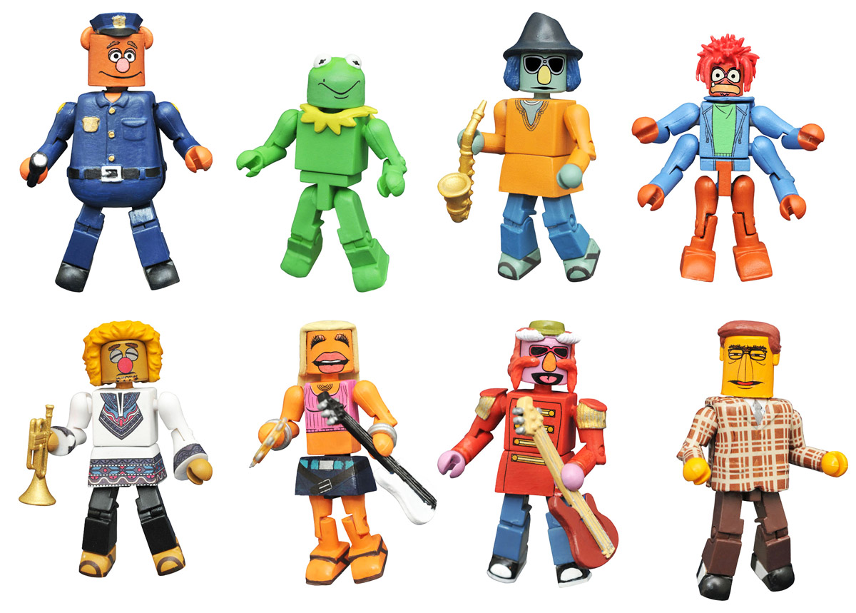 Muppets Minimates Series 3 Full Set of 8