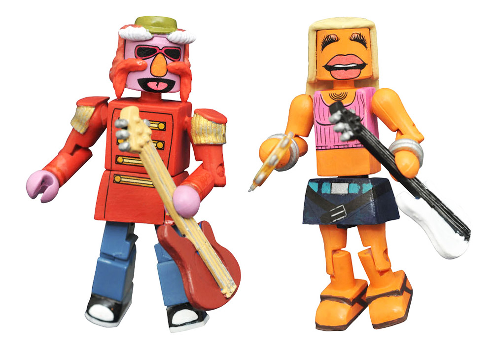 Floyd Pepper & Janice Muppets Minimates