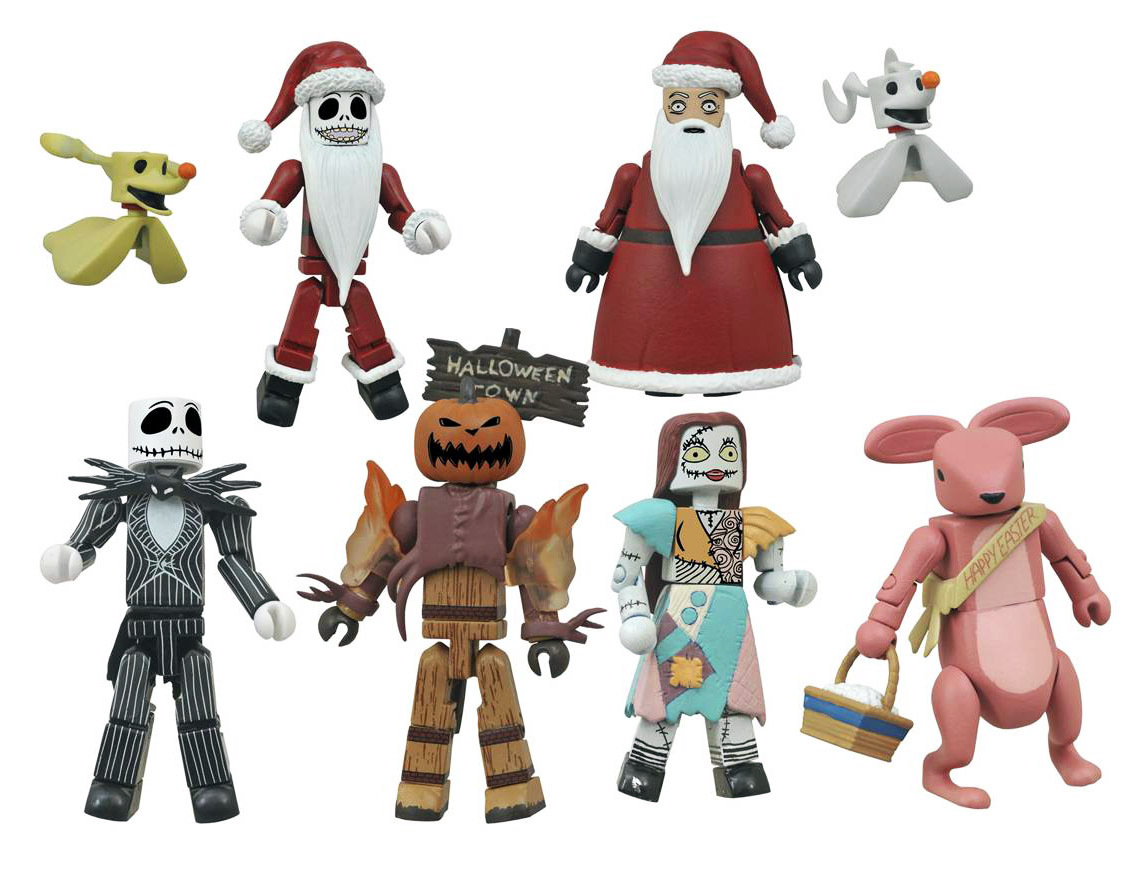 Nightmare Before Christmas Minimates Series 2 Full Case of 18