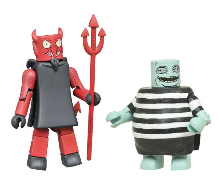 Devil & Corpse Boy Minimates