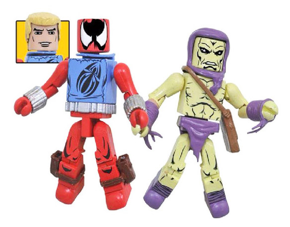 TRU Exclusive Scarlet Spider & Carrion Marvel Minimates