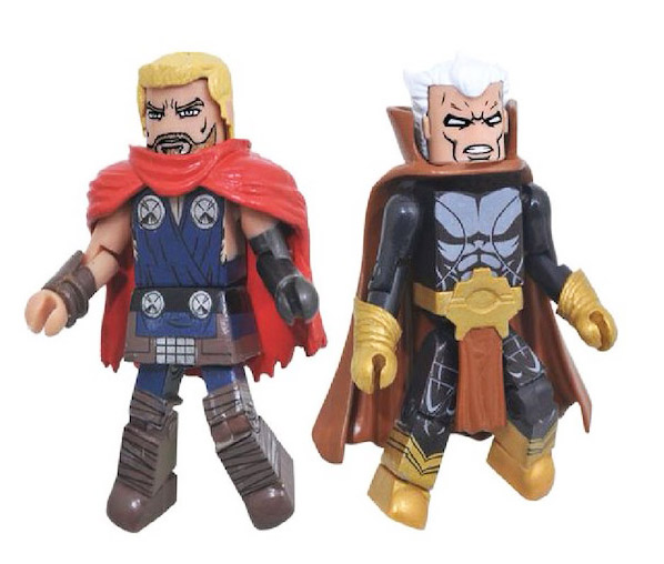 TRU Exclusive Unworthy Thor & The Collector Marvel Minimates