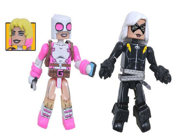 TRU Exclusive Gwenpool & Black Cat Marvel Minimates
